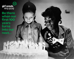 Girl Scouts 100th Anniversary