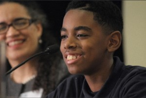 Howard University Middle School Student Panelist at 2014 BBSJ Summit