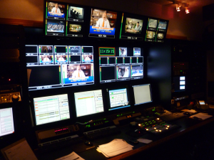 TV Station Control Room