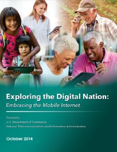 NTIA Mobile Internet Report