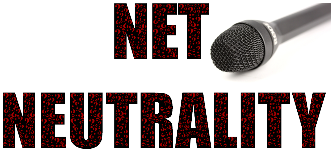 Net Neutrality Question Marks - by Marcella Gadson