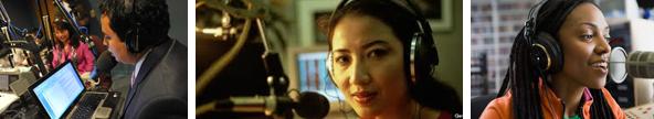 Black Hispanic Asian and Female Radio DJs