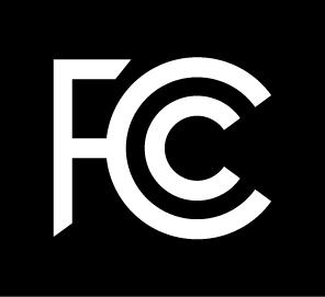 FCC Logo Black on White