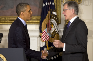 President Obama and Chairman Wheeler